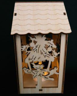 Small Wooden Nativity