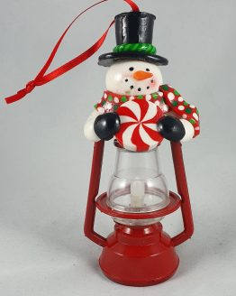 Snowman Lantern